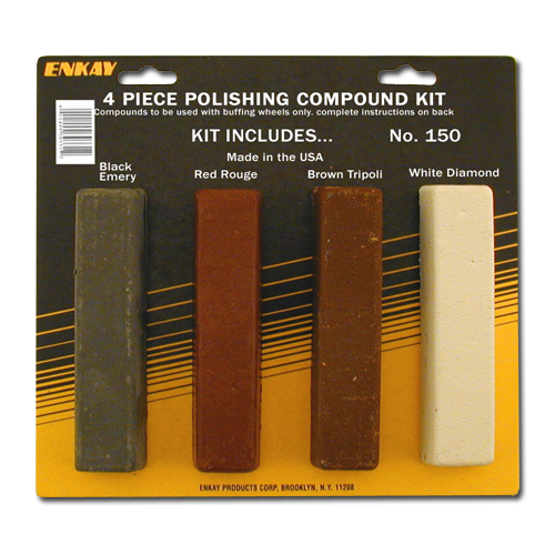 4 pc. Polishing Compound Kit