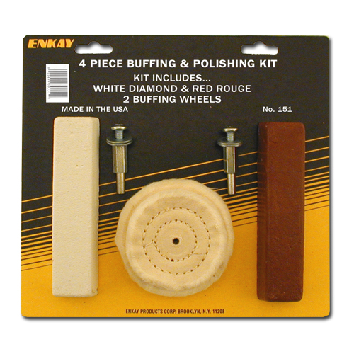 4 pc. Polishing Kit