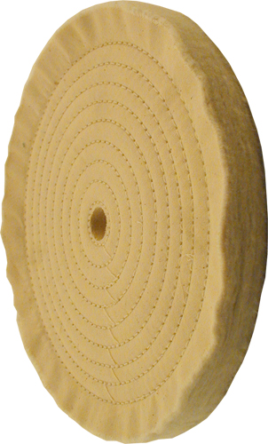 10 inch spiral sewn buffing wheel